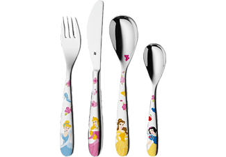 WMF 1282406040 DISNEY PRINCESS, Kinderbesteck 4-teilig