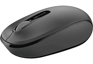 MICROSOFT Wireless Mobile Mouse 1850 Black - (U7Z-00004)