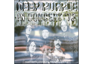Deep Purple - In Concert'72 (2012 Remix) (CD)