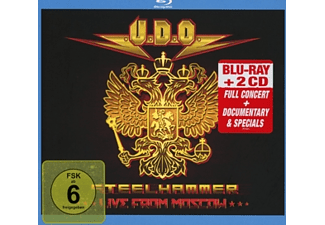 U.D.O. - Steelhammer-Live In Moscow (Blu-Ray+2CD Digipak) - (CD + Blu-Ray Disc)