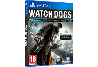 Watch Dogs Special Edition (PlayStation 4)