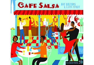 VARIOUS - Cafe Salsa - (CD)