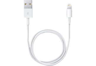 APPLE ME291ZM/A Lightning Connector auf USB Kabel, Weiß