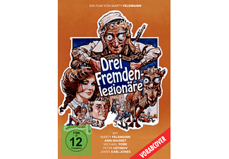 Drei Fremdenlegionäre - The last remake of Beau Geste - (DVD)