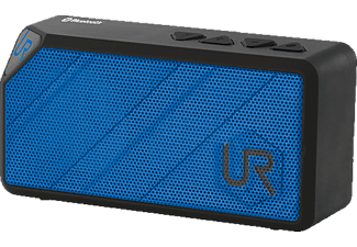 URBAN REVOLT 20028 Yzo Wireless Speaker, Bluetooth Lautsprecher, Blau