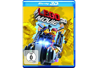 The LEGO Movie (3D Blu-ray + Blu-ray) Komödie Blu-ray 3D