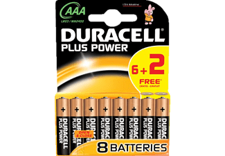 DURACELL Power Plus AAA 6+2