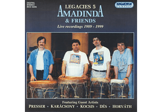 Amadinda Ütőegyüttes - Legacies 5 - Amadinda and Friends (CD)