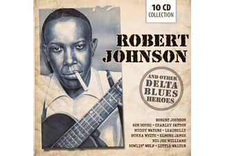 VARIOUS - Robert Johnson And Other Blues Heroes - (CD)