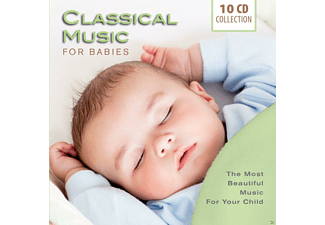 Various Specialty Artists, Various Orchestra - Classical Music For Babies (10 Cd Box) - (CD)