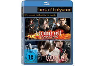 Resident Evil: Degeneration / Resident Evil: Damnation (Best Of Hollywood) - (Blu-ray)