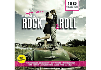 VARIOUS - Super Rare Teenage Rock & Roll - (CD)