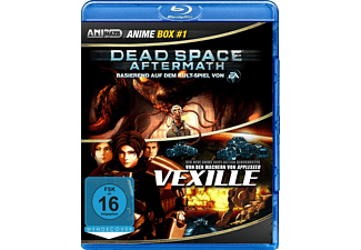 Anime Box 1 Dead Space Aftermath, Vexille - (Blu-ray)