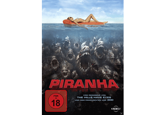 Piranha 3D Horror DVD