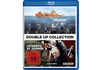 Cockneys vs. Zombies / Piranha - (Blu-ray)