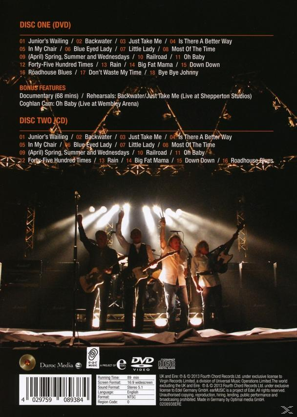 Status Quo - Back2sq1-Live At Wembley - (DVD + CD)