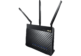 ASUS RT-AC68U TROPICAL  (Schwarz)