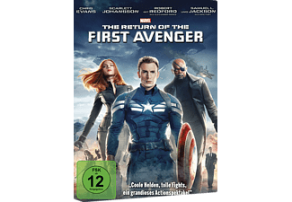 The Return of the First Avenger - (DVD)