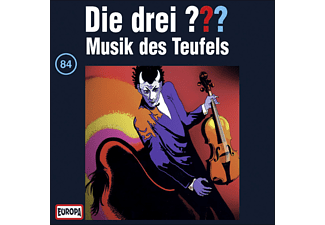 SONY MUSIC ENTERTAINMENT (GER) Die drei ??? 84: Musik des Teufels