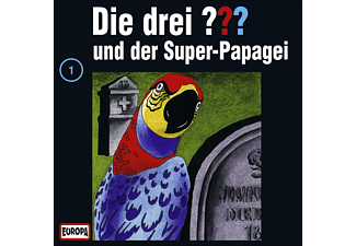 SONY MUSIC ENTERTAINMENT (GER) Die drei ??? 01: ...und der Superpapagei