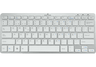 Teclado inalámbrico para Pc y Mac - Bluestork BS-KB-MICRO-BT/F, blanco, mini