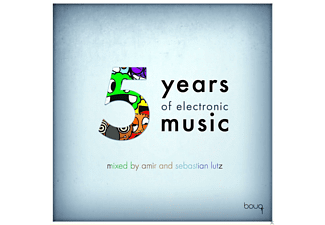 VARIOUS - 5 Years Of Electronic Music - (CD)