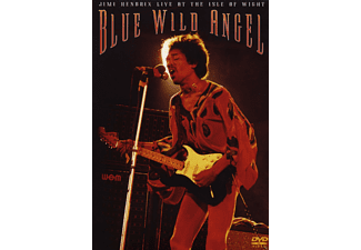 Jimi Hendrix - BLUE WILD ANGEL - LIVE AT ISLE OF WIGHT - (DVD)
