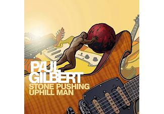 Paul Gilbert - Stone Pushing Uphill Man - (CD)