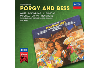 Quivar, Boatwright, Mitchell, White, Maazel - Gershwin: Porgy And Bess - (CD)