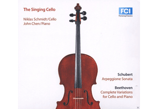 Niklas Schmidt, John Chen - The Singing Cello - (CD)