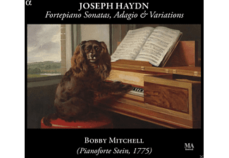 Bobby Mitchell - Cembalosonaten,Adagio & Variationen - (CD)