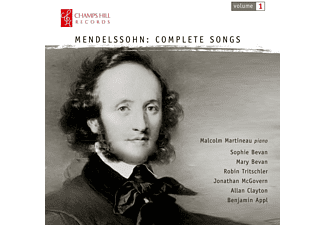 VARIOUS - Mendelssohn: Complete Songs - (CD)