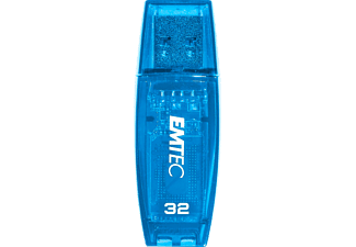 EMTEC ECMMD32GC410 C410 - USB-Stick  (32 GB, Blau)