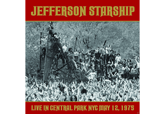 Jefferson Starship - Live At Central Park NYC May 12, 1975 - (CD)