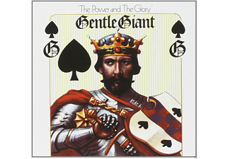 Gentle Giant - The Power And The Glory (5.1 & 2.0 Steven Wilson Mix) - (CD + Blu-ray Disc)