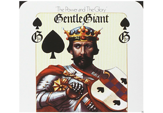Gentle Giant - The Power And The Glory (5.1 & 2.0 Steven Wilson Mix) - (DVD + CD)