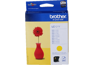 BROTHER LC-121Y Jaune
