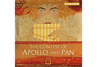 Tassilo Erhardt, Sally Holman, Steven Devine - The Contest of Apollo and Pan - (CD)