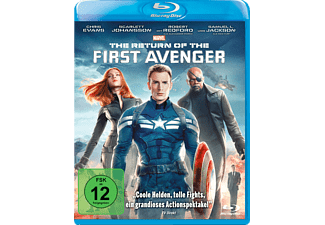 The Return of the First Avenger - (Blu-ray)