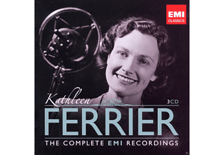 Kathleen Ferrier, VARIOUS, Various Orchestra - The Complete Emi Recordings - (CD)