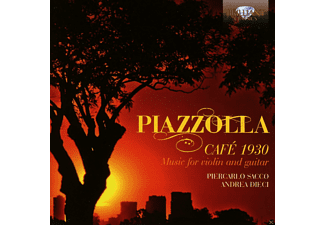 Andrea Dieci, Piercarlo Sacco - Piazzolla: Cafe 1930 - Music For Violin And Guitar - (CD)