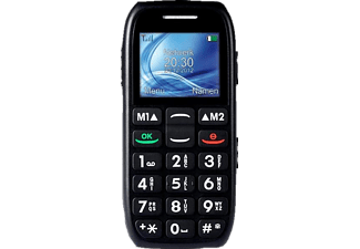 PROFOON GSM Big Button Comfort Zwart (PM-676)