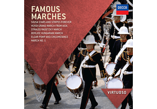 Diverse - Famous Marches - (CD)