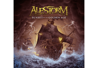 Alestorm - Sunset On The Golden Age - (CD)