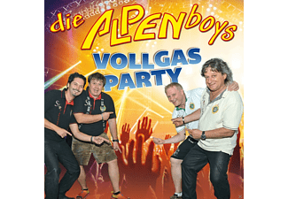 Die Alpenboys - Vollgas Party - (CD)
