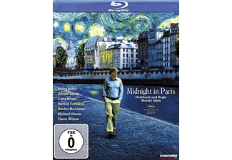MIDNIGHT IN PARIS - (Blu-ray)