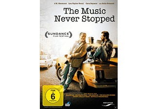 THE MUSIC NEVER STOPPED - (DVD)