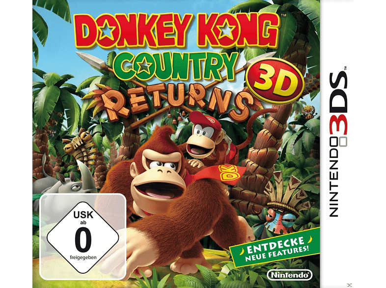 Donkey Kong Country Returns 3D [Nintendo 3DS]