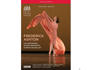 Murphy/Royal Ballet, The - Frederick Ashton: Les Patineurs/Divertissements - (DVD)