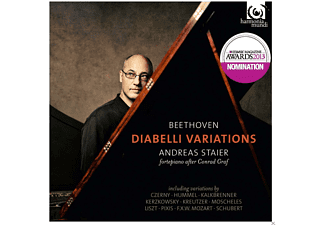Andreas Staier - Diabelli-Variationen - (CD)